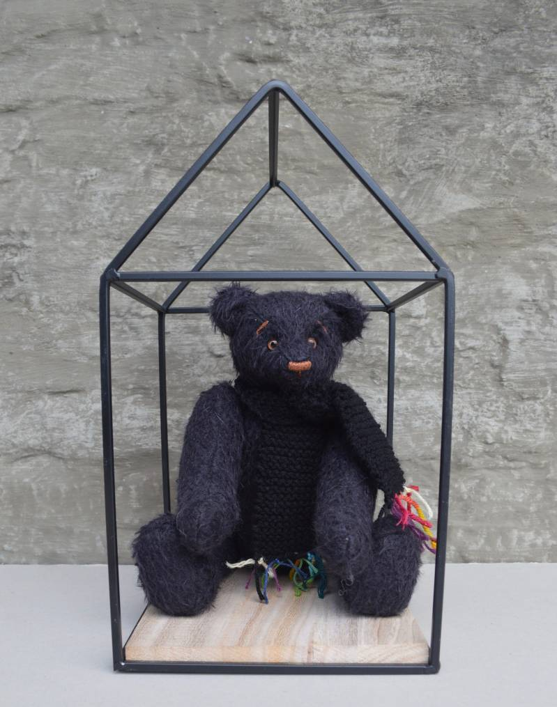 Decorative teddy bear Muffle