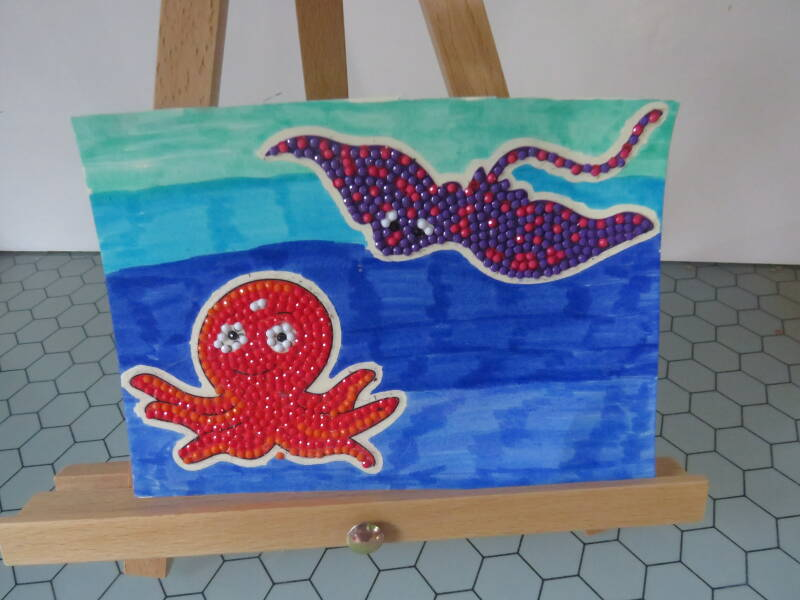 under sea canvas