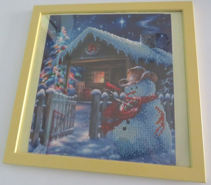 Christmas house Diamond painting