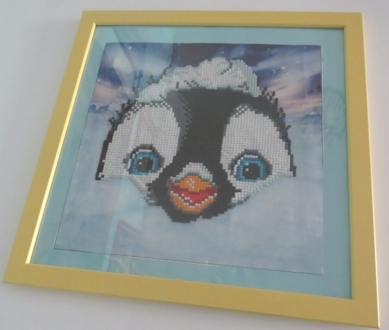 Penguin Diamond painting