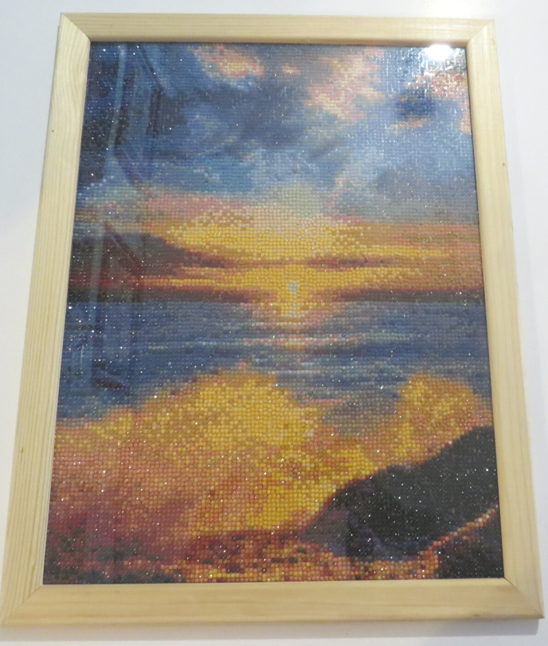Sunset Diamond painting