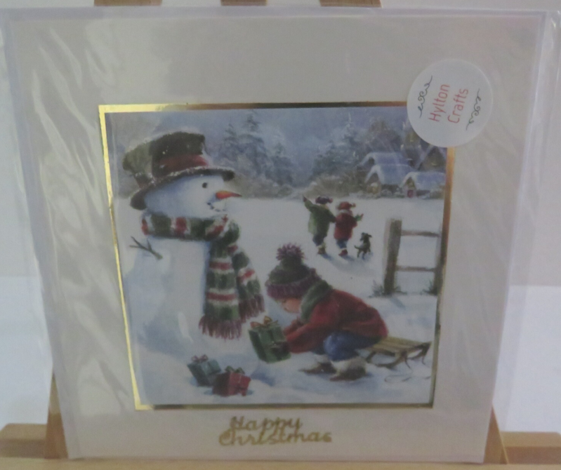 square christmas cards set 2