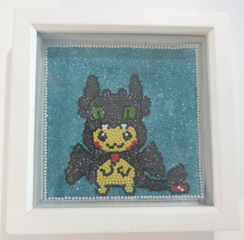 Pikachu Toothless Diamond painting