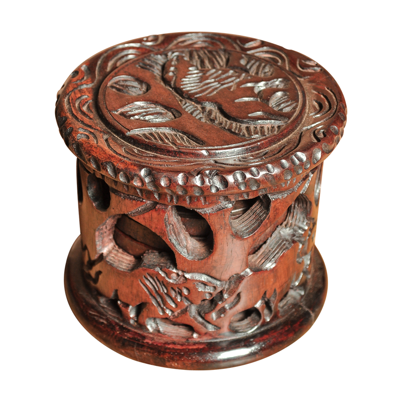 Afrikaans product - ijzer/hout - Coaster - 2