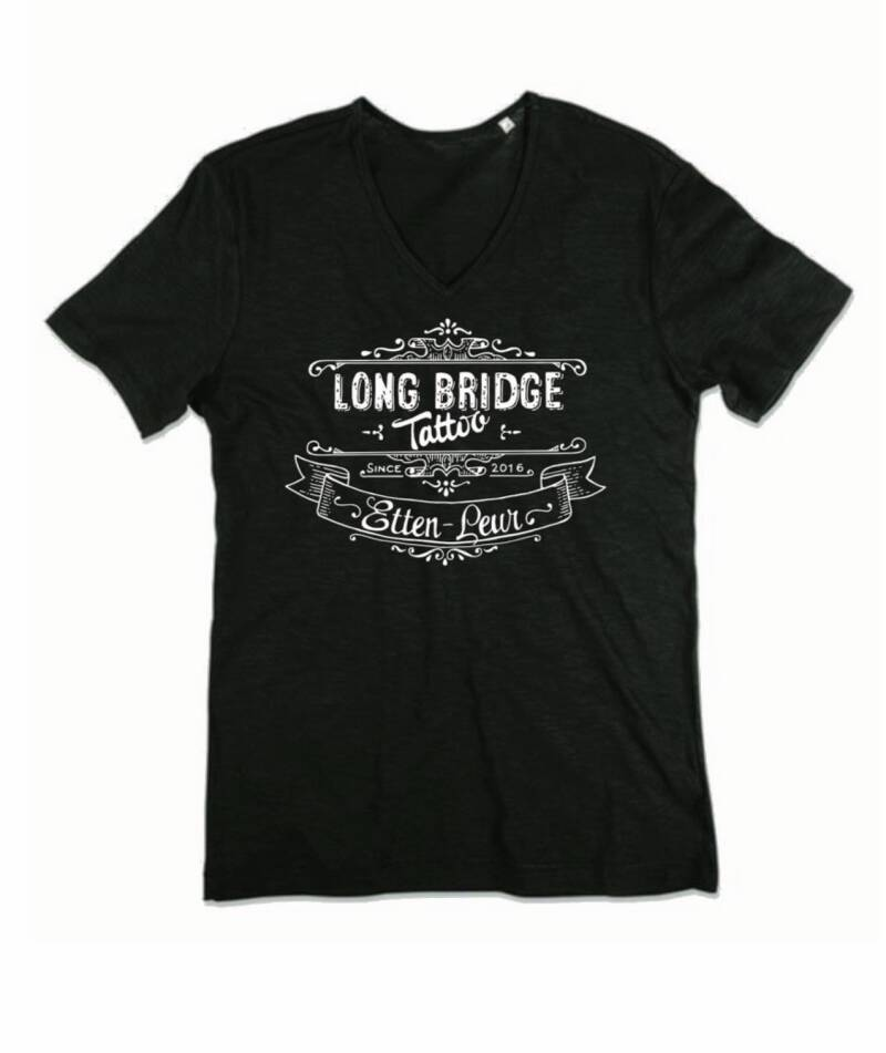 Heren t-shirt logo Long Bridge Tattoo