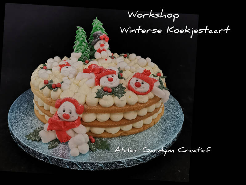 10/12/2020 - Workshop Winterse Koekjestaart