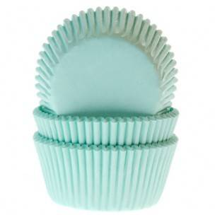 House of Marie Cupcakevormpjes Mint pk/50 Art.nr: HM1227