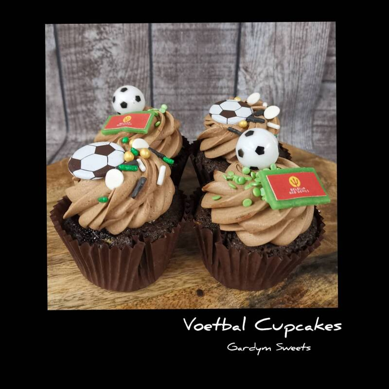 CUPCAKE - Thema Voetbal