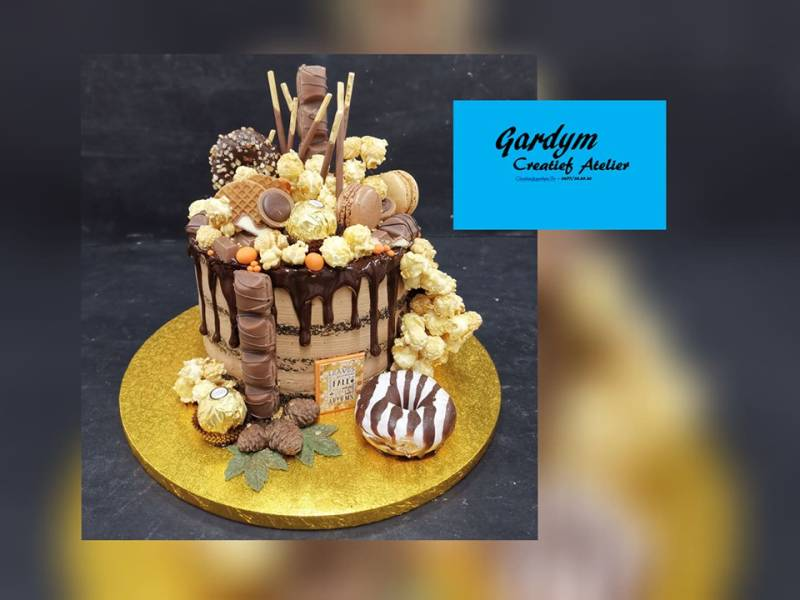 05/03/2020 - Workshop Chocolade Drip Cake