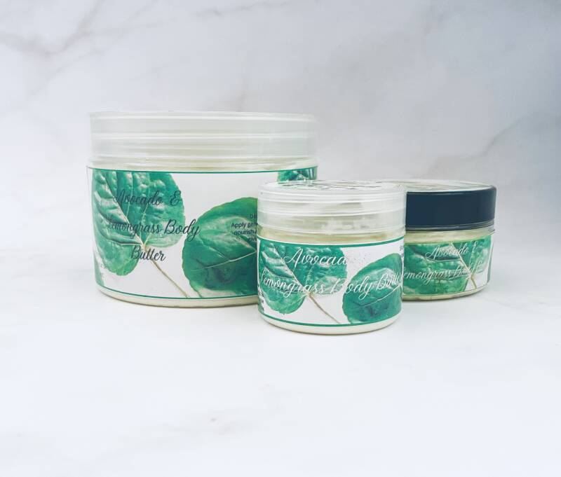 Avocado & Lemongrass Body Butter