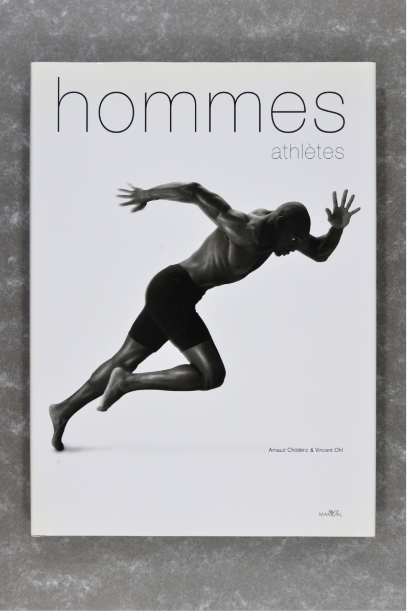 Childéric , Arnaud & Ohl , Vincent - hommes athlétes         new in plastic!