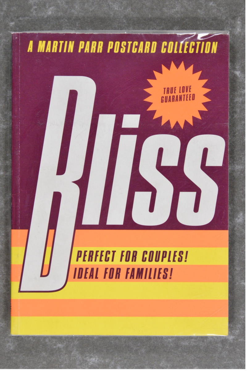 Parr , Martin - Bliss postcard collection    Signed!!!