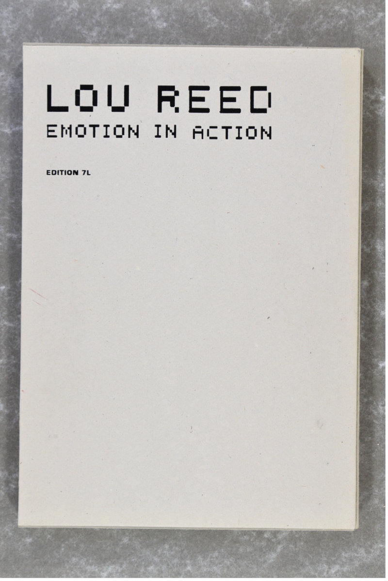 Reed, Lou  -  EMOTION IN ACTION