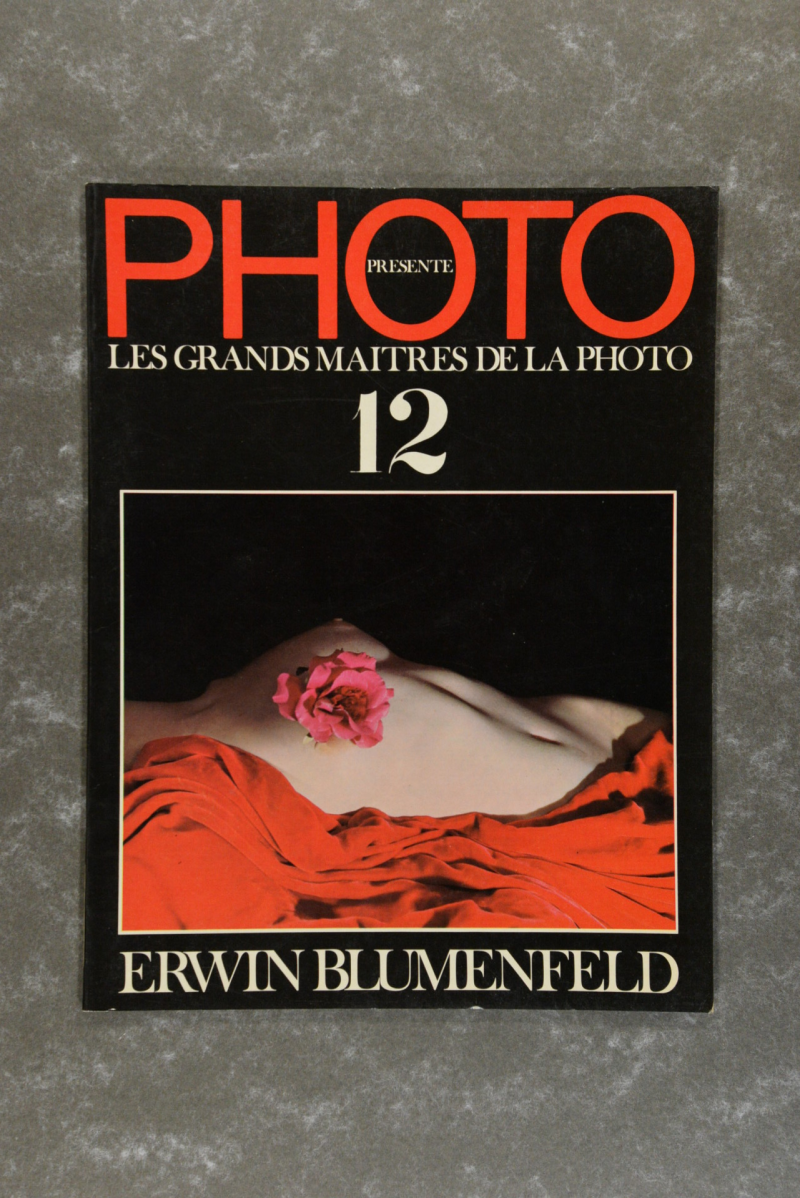 Blumenfeld,  Erwin  -  Photo Presente Les Grands Maitres De La Photo 12: Erwin Blumenfeld
