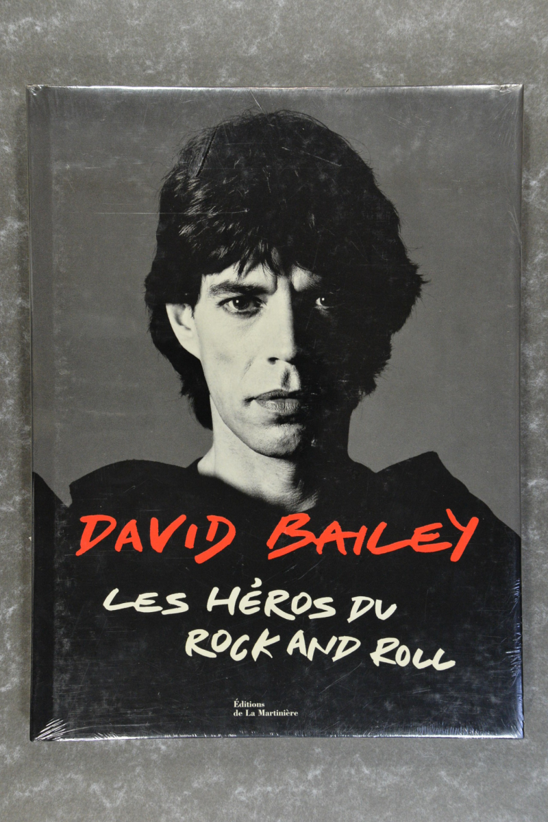Bailey,  David  -  Les Héros du Rock and Roll     new in plastic XL-book hardcover Rare!