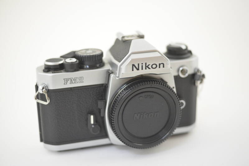 Nikon  -  Nikon FM2n chrome body ser. nr. 8082994