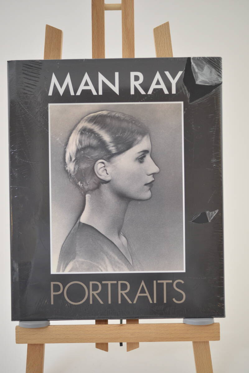 Ray,  Man  -  Portraits  - hardcover  NEW in plastic!!!