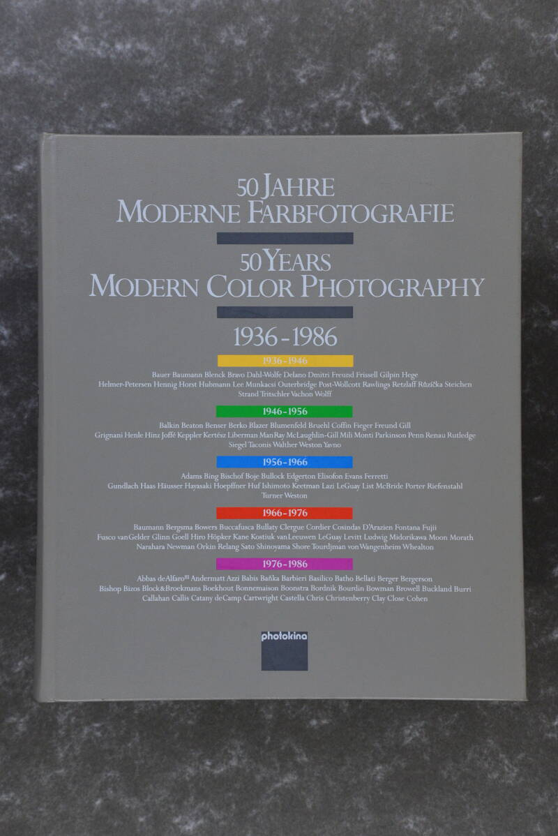 50 Jahre Moderne Farbfotografie - 50 Years Modern Color Photography 1936-1986