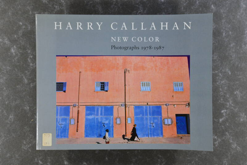 Calahan, Harry  -  NEW COLOR - Photographs 1978-1987 rare!