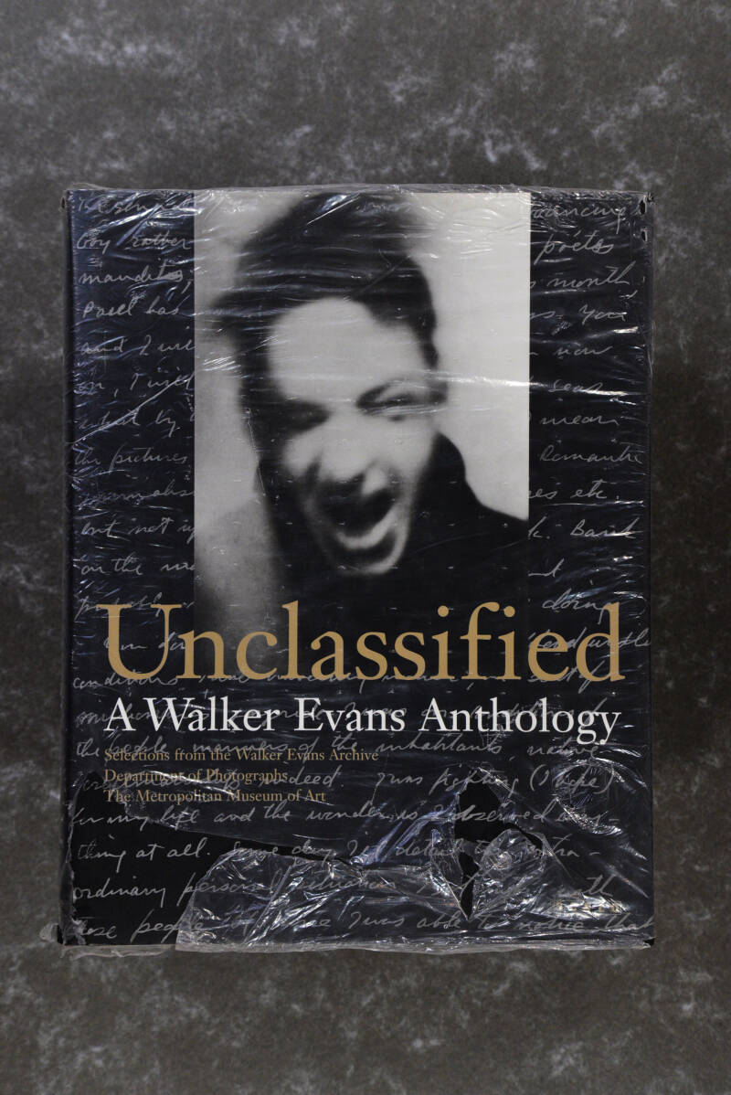 Evans, Walker  -  Unclassified A Walker Evans Anthology  -  SCALO