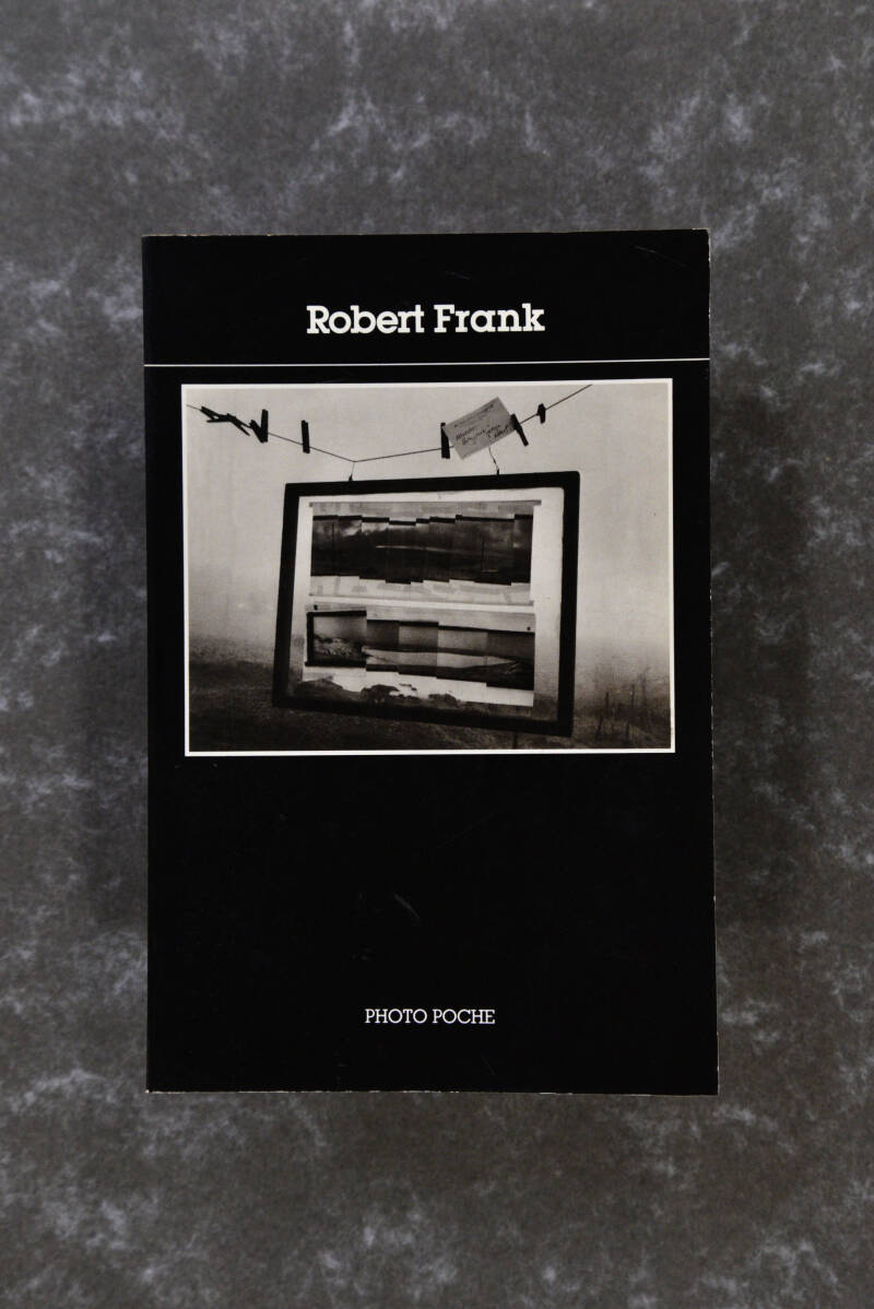 Frank, Robert  --  ROBERT FRANK  -  photo poche  rare! 1st edition 1983