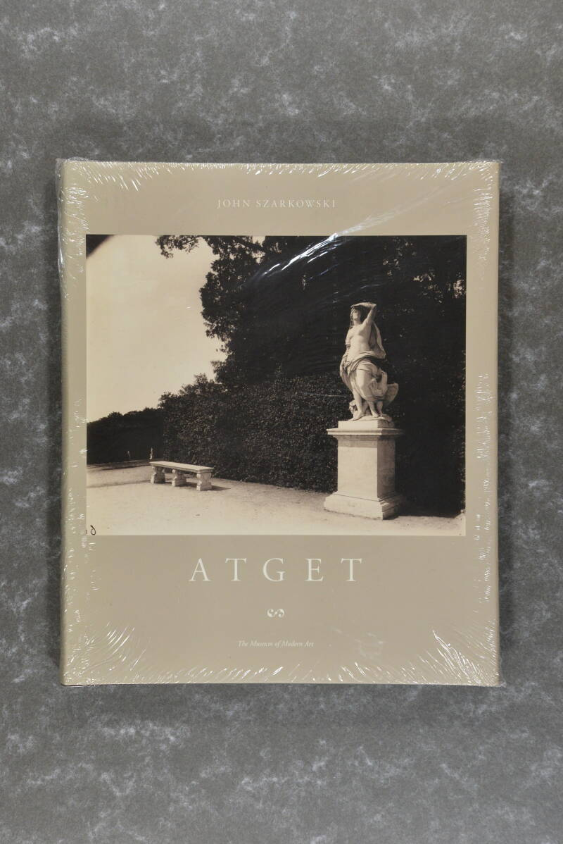 Atget,  Eugene  -  The museum of modern art  NEW in plastic