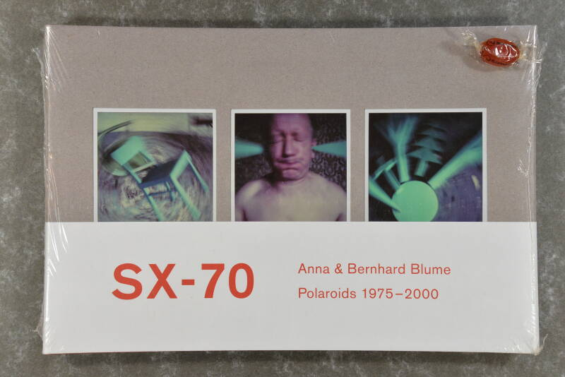 Blume, Anna & Bernhard  -  Polaroid-Collages 1975-2000  XL-book new in plastic!