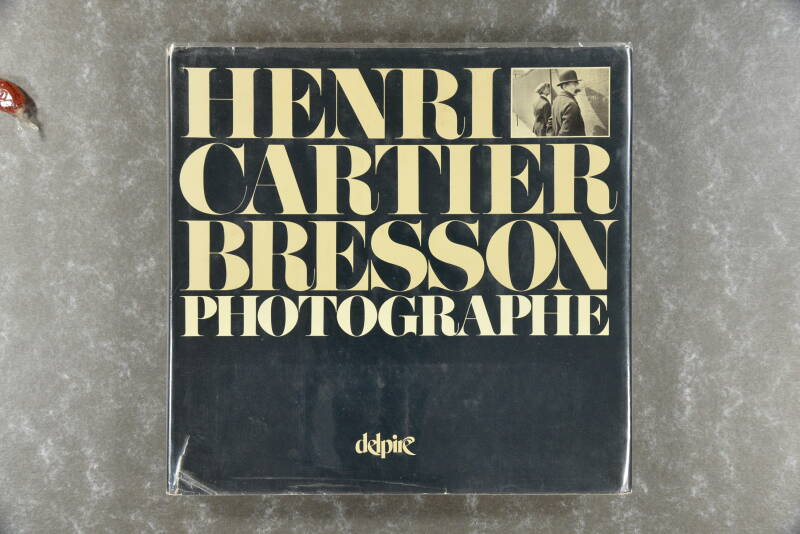 CARTIER-BRESSON,  HENRI  -  Photographe    XXL-book!