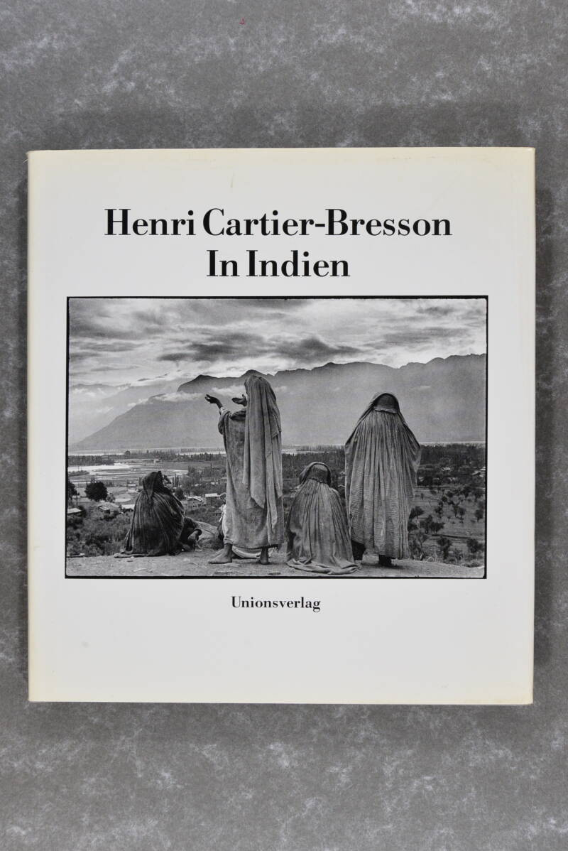 Cartier Bresson, Henri  -  In Indien