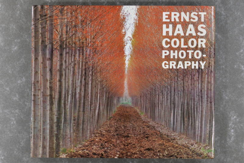 Haas, Ernst  -  Ernst Haas Color Photography   (Rare!) (XL-book)