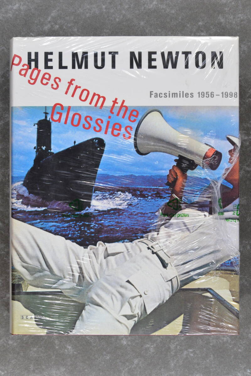 Newton, Hemut  -  Pages from the Glossies       (New in plastic!)  XXL-Book!