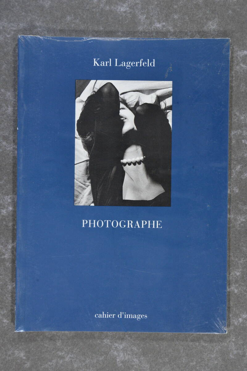 Lagerfeld, Karl  -  Photographe: cahier d'images    (New in plastic!) (Extremely rare!)