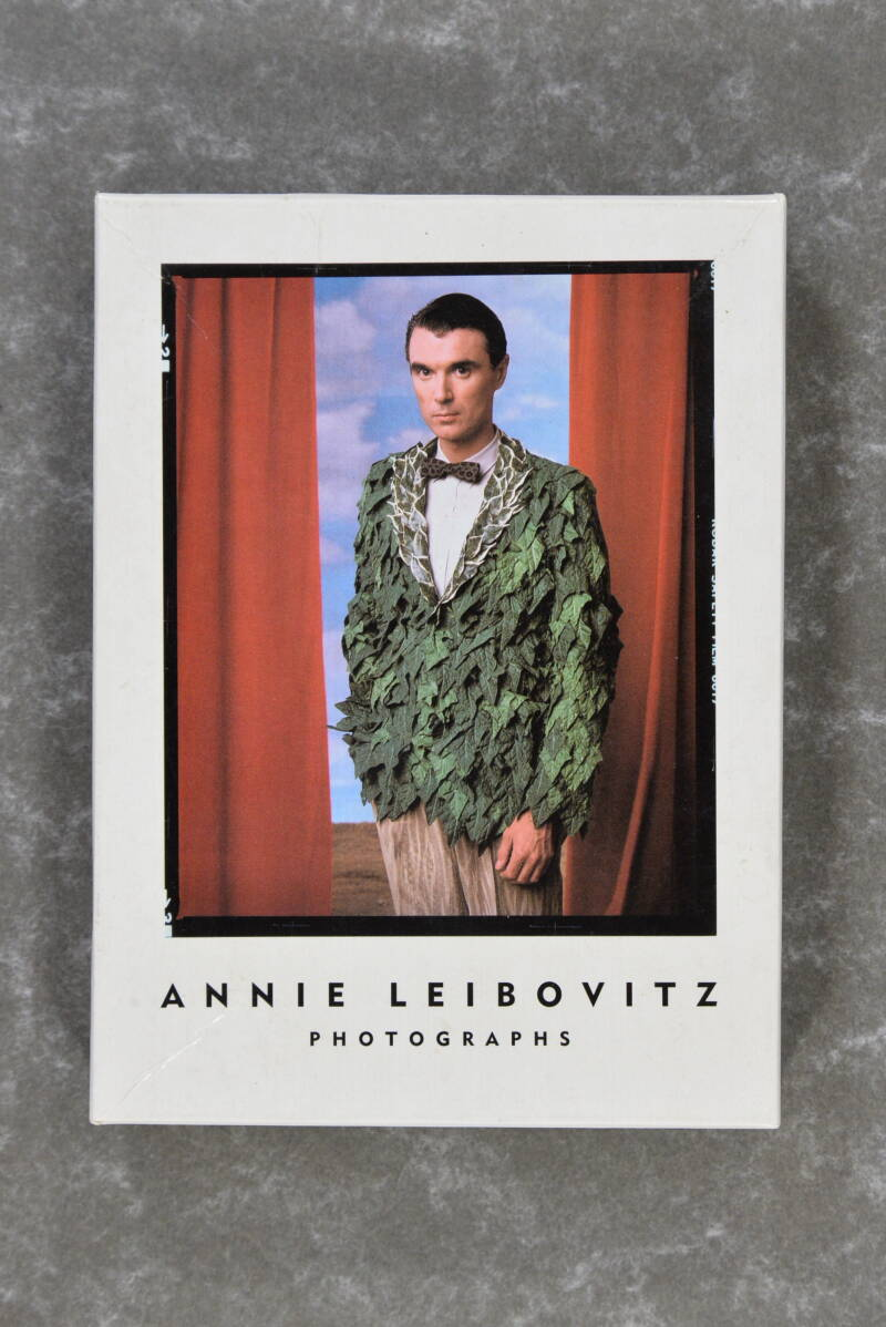 Leibovitz, Annie  -  Photographs: Notecards            (Extremely rare!) (Hard to find!)