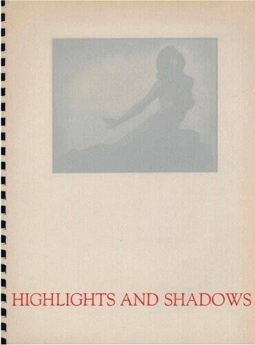 Genthe Arnold , Highlights and Shadows