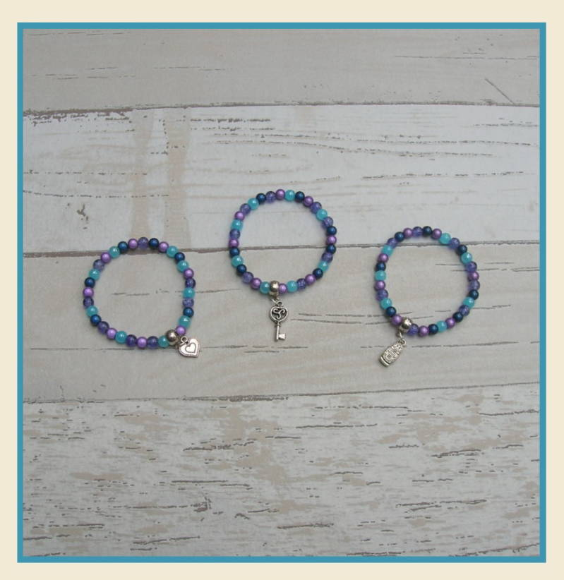 Armband set Purple