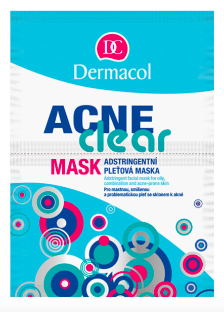 AcneClear mask 2x8g