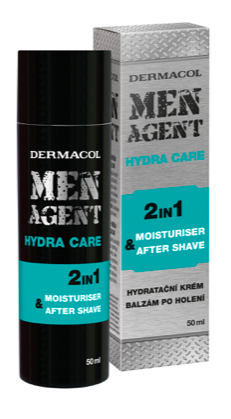 Men Agent Moisturizing gel-cream & aftershave balm 50 ml