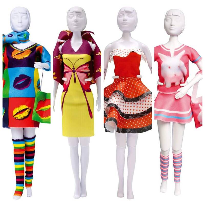 Pakket: dress your doll