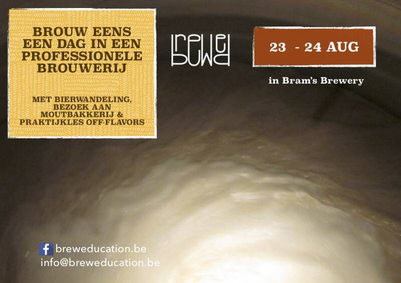 BREWexperience - 23/24 aug - licht 4% - Bram's Brewery Roeselare