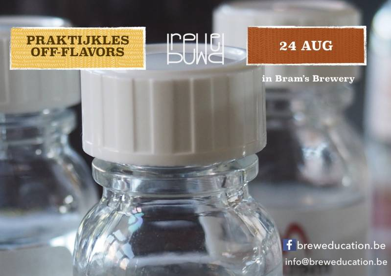 BREWsensory - Off-flavors - 24 aug - Roeselare