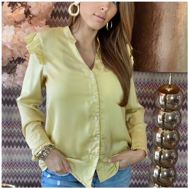Rousel Blouse Yellow