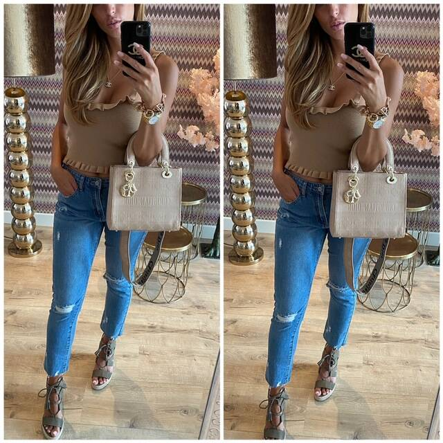 Camel rousel top