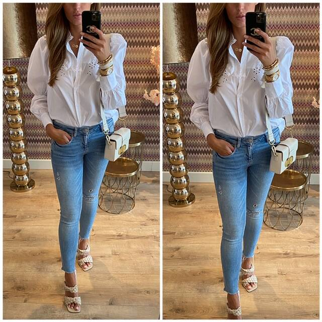Brod blouse wit