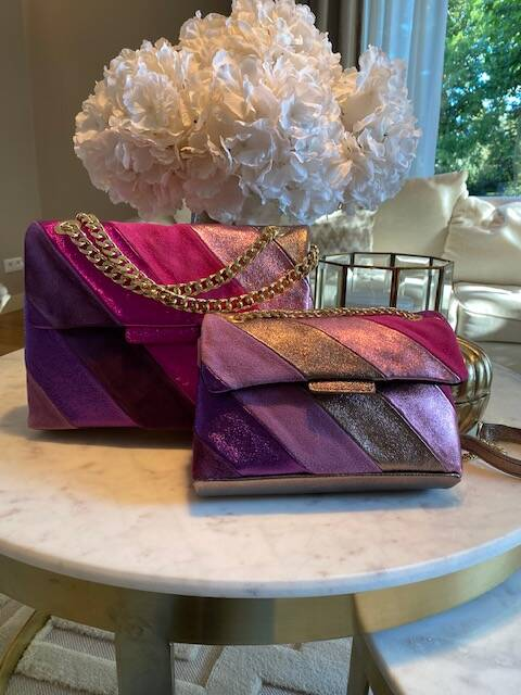 Pink Bag Leather