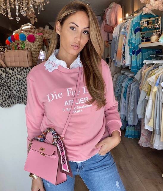 Dio Sweater Pink