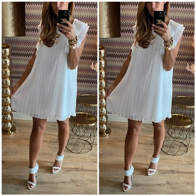 Simply White Dress