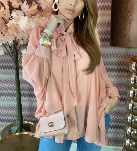 Sale Coral Glamour Blouse