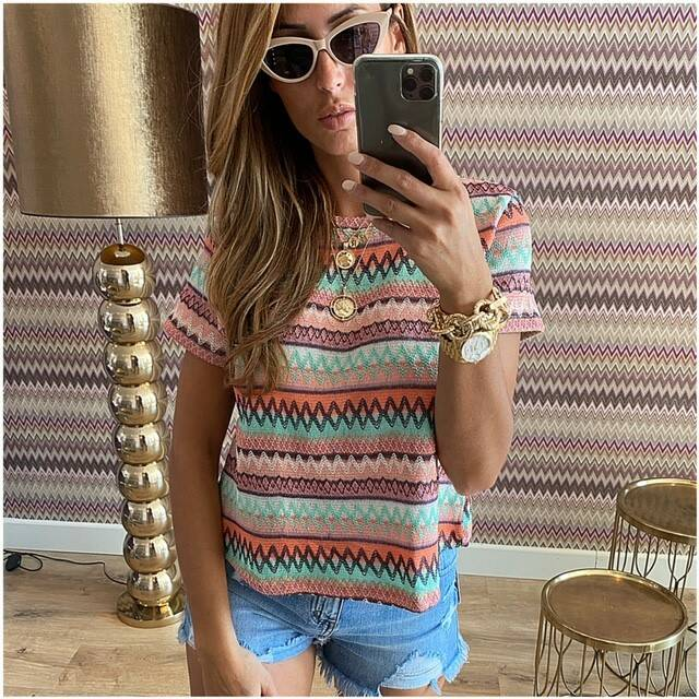 Misson Top Colorfull