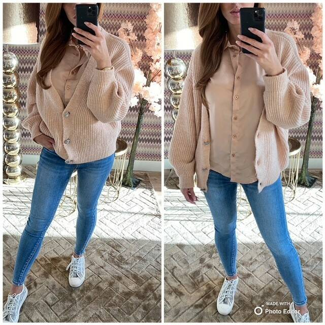 Sale Satin Pink Blouse