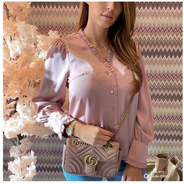 Pink Roesel Blouse